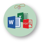 MS Word, MS Excel,PDF Files